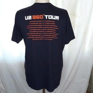 Sz L Vintage 2009 U2 360 Global Tour Tee T-shirt Y